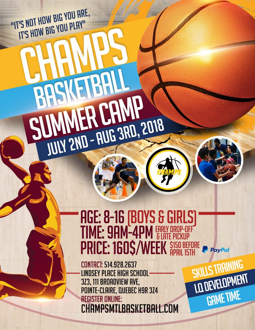 SUMMER BASKETBALL CAMP 2018 En